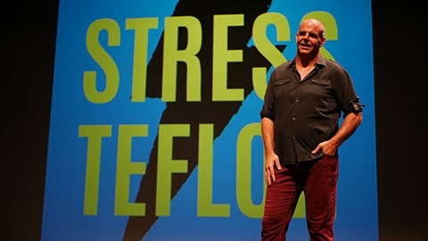Luke Mathers Author of Stress Teflon